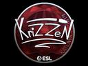 Sticker | KrizzeN (Foil) | Katowice 2019