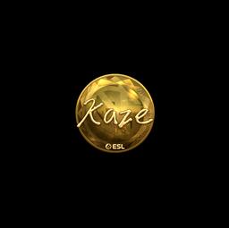 Sticker | Kaze (Gold) | Katowice 2019