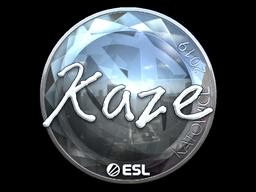 Sticker | Kaze (Foil) | Katowice 2019