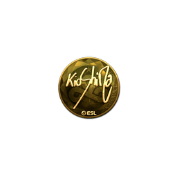 Sticker | kioShiMa (Gold) | Katowice 2019