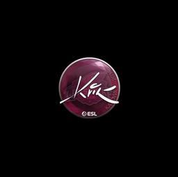 Sticker | Kvik | Katowice 2019