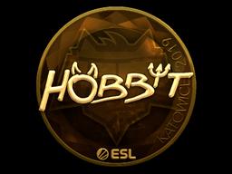 Sticker | Hobbit (Gold) | Katowice 2019