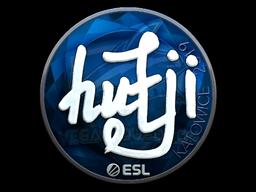 Sticker | hutji (Foil) | Katowice 2019