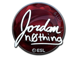 Sticker | n0thing (Foil) | Katowice 2019