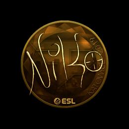 NiKo (Gold) | Katowice 2019