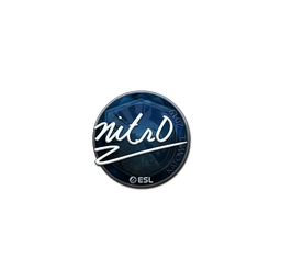 Sticker | nitr0 (Foil) | Katowice 2019