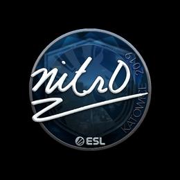 nitr0 (Foil) | Katowice 2019
