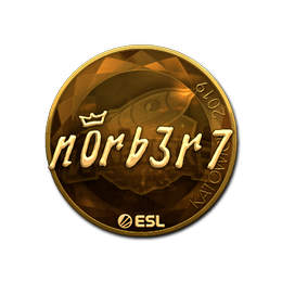n0rb3r7 (Gold) | Katowice 2019