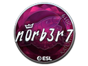 Sticker | n0rb3r7 (Foil) | Katowice 2019
