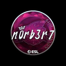 n0rb3r7 (Foil) | Katowice 2019