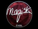 Sticker | Magisk (Foil) | Katowice 2019