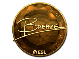 Sticker | Brehze (Gold) | Katowice 2019