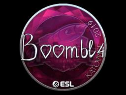 Sticker | Boombl4 (Foil) | Katowice 2019