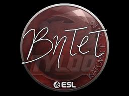 Наклейка | BnTeT | Катовице 2019