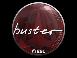 Sticker | buster | Katowice 2019