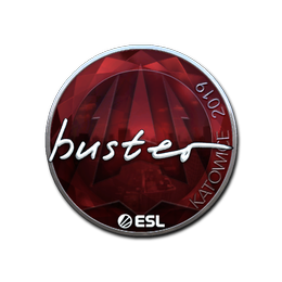 buster (Foil)   Katowice 2019