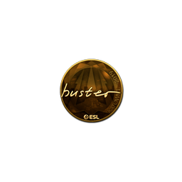 Sticker | buster (Gold) | Katowice 2019