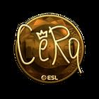 Sticker | CeRq (Gold) | Katowice 2019