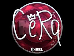Sticker | CeRq (Foil) | Katowice 2019