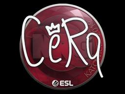 Sticker | CeRq | Katowice 2019