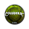 Sticker   coldzera (Foil)   Katowice 2019