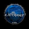 Sticker   chopper (Foil)   Katowice 2019