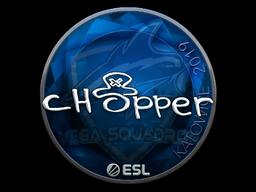 Sticker | chopper (Foil) | Katowice 2019