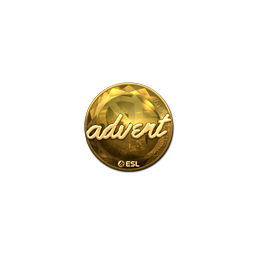 Sticker | advent (Gold) | Katowice 2019