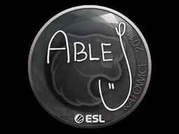 Sticker | ableJ | Katowice 2019