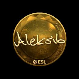 Aleksib (Gold) | Katowice 2019