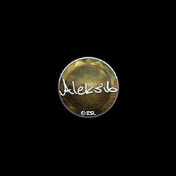 Sticker | Aleksib (Foil) | Katowice 2019