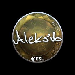 Aleksib (Foil) | Katowice 2019