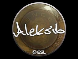 Наклейка | Aleksib | Катовице 2019