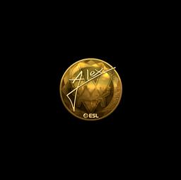 Sticker | ALEX (Gold) | Katowice 2019