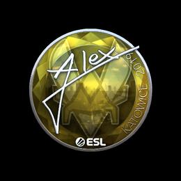 ALEX (Foil) | Katowice 2019