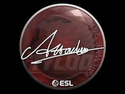 Sticker | Attacker | Katowice 2019
