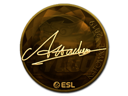 Sticker | Attacker (Gold) | Katowice 2019