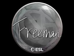 Наклейка | Freeman | Катовице 2019