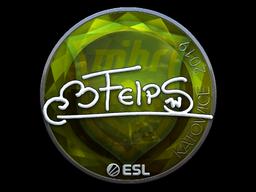 Sticker | felps (Foil) | Katowice 2019