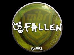 Наклейка | FalleN | Катовице 2019