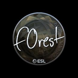 f0rest (Foil) | Katowice 2019