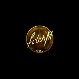 Sticker | fitch (Gold) | Katowice 2019