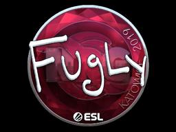 Наклейка | FugLy (металлическая) | Катовице 2019