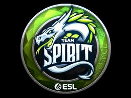 Sticker | Team Spirit (Foil) | Katowice 2019