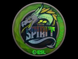 Наклейка | Team Spirit (голографическая) | Katowice 2019