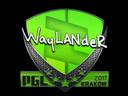 Sticker | wayLander | Krakow 2017