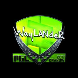 wayLander (Foil)   Krakow 2017
