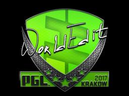steam community market listings for sticker worldedit krakow 2017