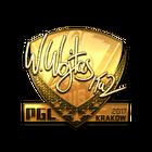 Sticker   TaZ (Gold)   Krakow 2017