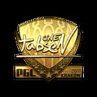Sticker | tabseN (Gold) | Krakow 2017